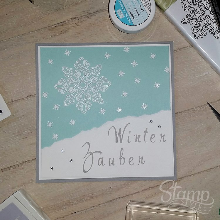 Grußkarte WinterZauber